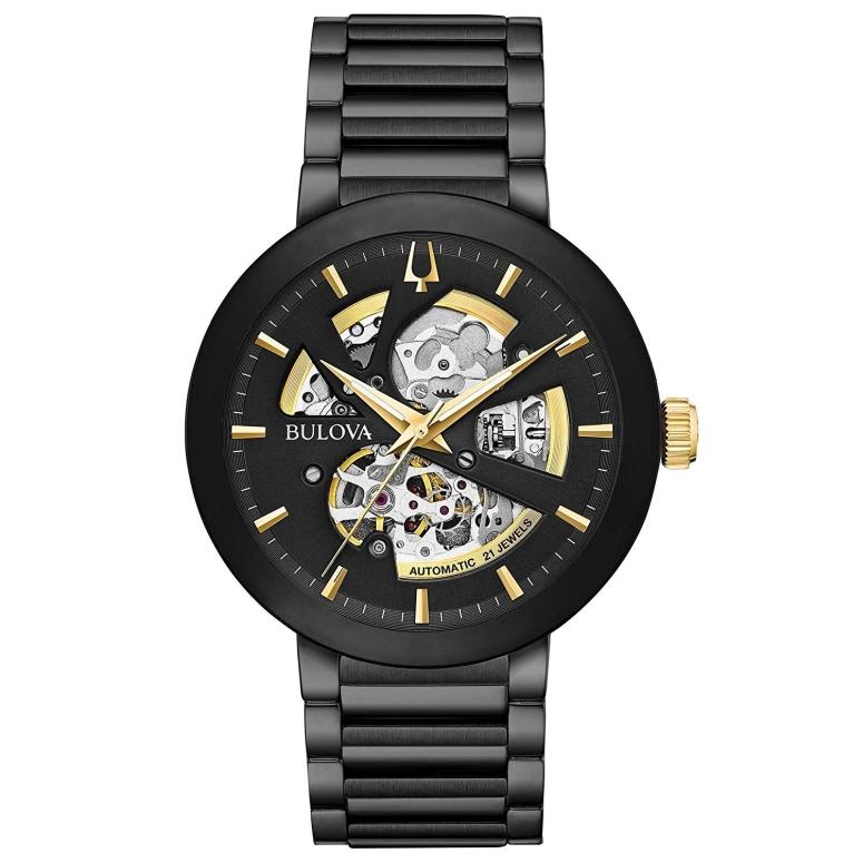 ブローバ Bulova 男性用 腕時計 メンズ ウォッチ ブラック 98A203 送料無料 【並行輸入品】