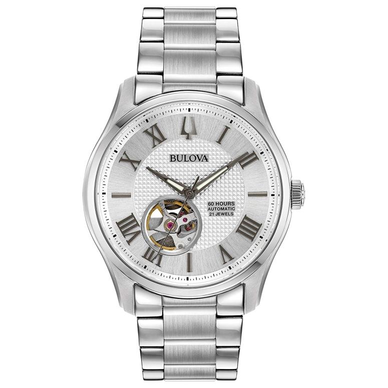 ブローバ Bulova 男性用 腕時計 メンズ ウォッチ シルバー 96A207 送料無料 【並行輸入品】