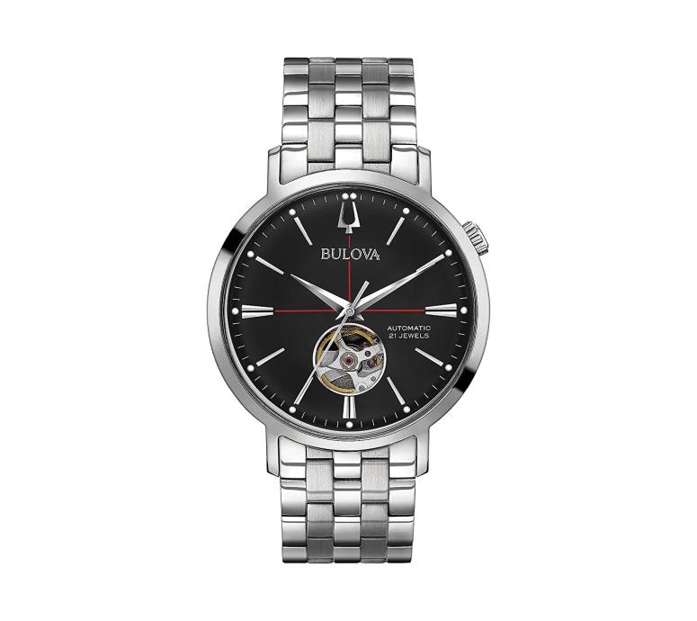 ブローバ Bulova 男性用 腕時計 メンズ ウォッチ ブラック 96A199 送料無料 【並行輸入品】