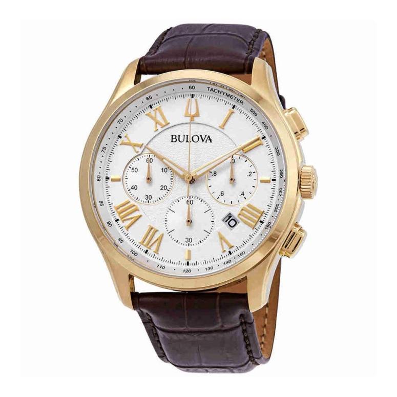 ブローバ Bulova 男性用 腕時計 メンズ ウォッチ ホワイト 97B169 送料無料 【並行輸入品】