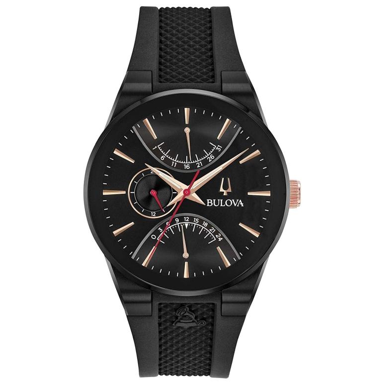 ブローバ Bulova 男性用 腕時計 メンズ ウォッチ ブラック 98B321 送料無料 【並行輸入品】