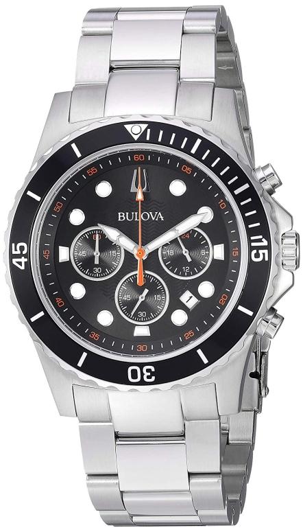 ブローバ Bulova 男性用 腕時計 メンズ ウォッチ ブラック 98B326 送料無料 【並行輸入品】