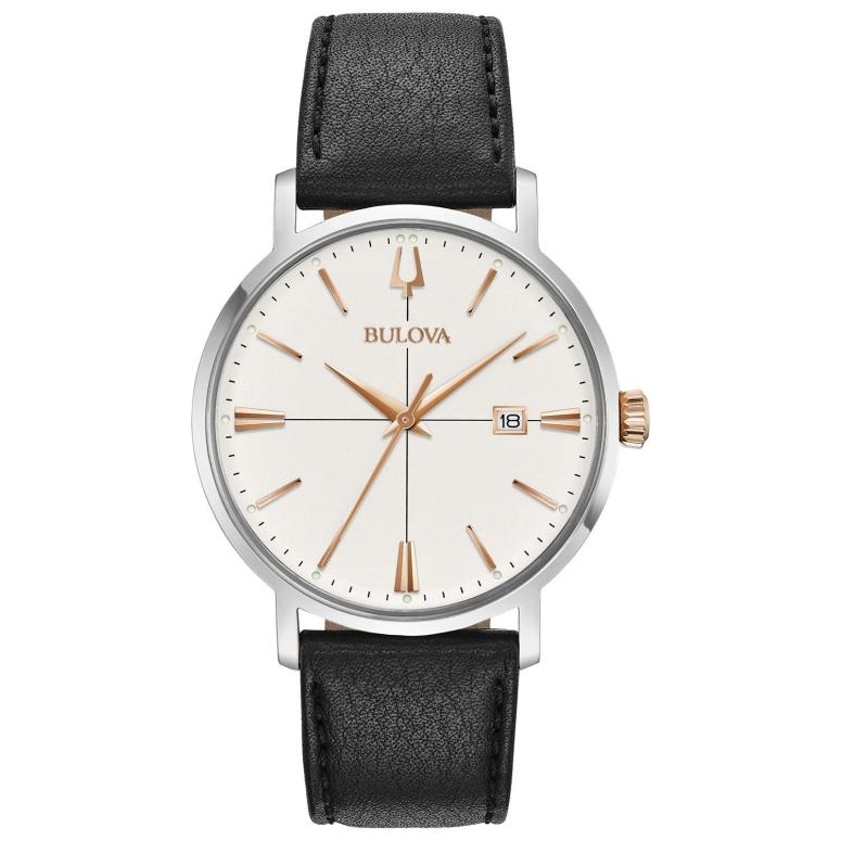 ブローバ Bulova 男性用 腕時計 メンズ ウォッチ シルバー 98B254 送料無料 【並行輸入品】