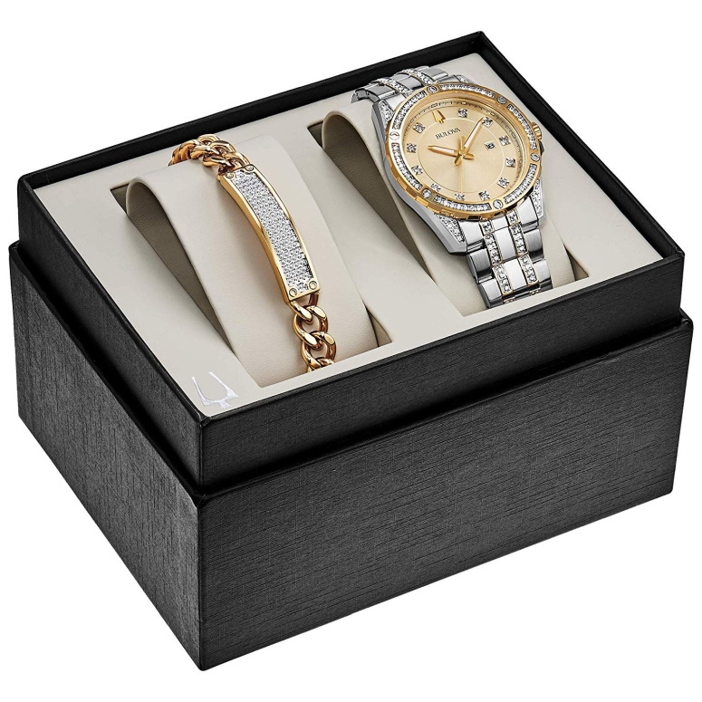 ブローバ Bulova 男性用 腕時計 メンズ ウォッチ シャンパン 98K106 送料無料 【並行輸入品】