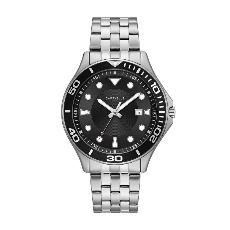 ブローバ Bulova 男性用 腕時計 メンズ ウォッチ ブラック 43B162 送料無料 【並行輸入品】