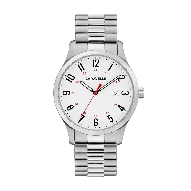 ブローバ Bulova 男性用 腕時計 メンズ ウォッチ ホワイト 43B153 送料無料 【並行輸入品】