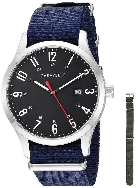 ブローバ Bulova 男性用 腕時計 メンズ ウォッチ ブラック 43B160 送料無料 【並行輸入品】