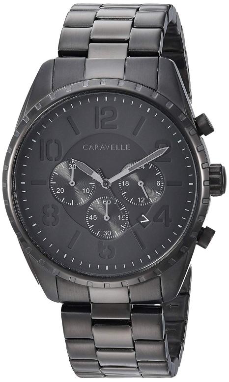 ブローバ Bulova 男性用 腕時計 メンズ ウォッチ ブラック 45B150 送料無料 【並行輸入品】