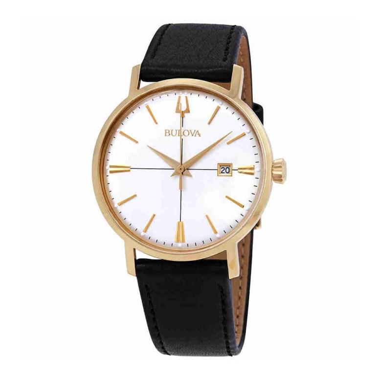ブローバ Bulova 男性用 腕時計 メンズ ウォッチ ホワイト 97B172 送料無料 【並行輸入品】