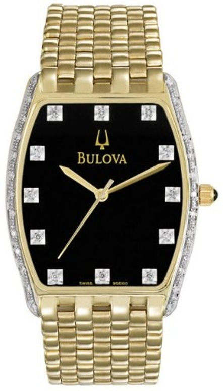 ブローバ Bulova 男性用 腕時計 メンズ ウォッチ ブラック 95E100 送料無料 【並行輸入品】