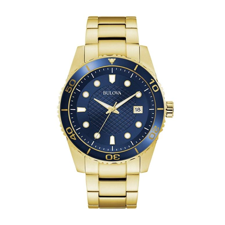 ブローバ Bulova 男性用 腕時計 メンズ ウォッチ ブルー 98A197 送料無料 【並行輸入品】