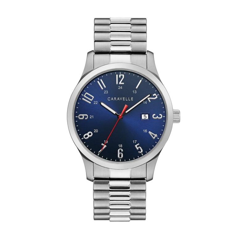 ブローバ Bulova 男性用 腕時計 メンズ ウォッチ ブルー 43B161 送料無料 【並行輸入品】