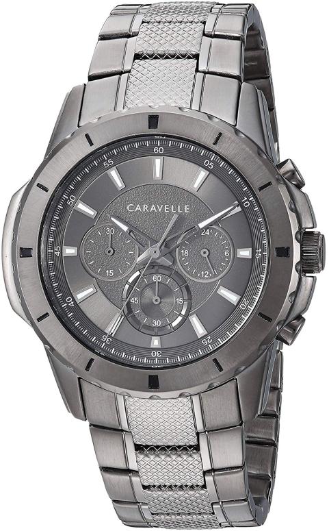 ブローバ Bulova 男性用 腕時計 メンズ ウォッチ グレー 45A142 送料無料 【並行輸入品】