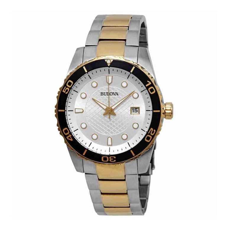 ブローバ Bulova 男性用 腕時計 メンズ ウォッチ シルバー 98A198 送料無料 【並行輸入品】
