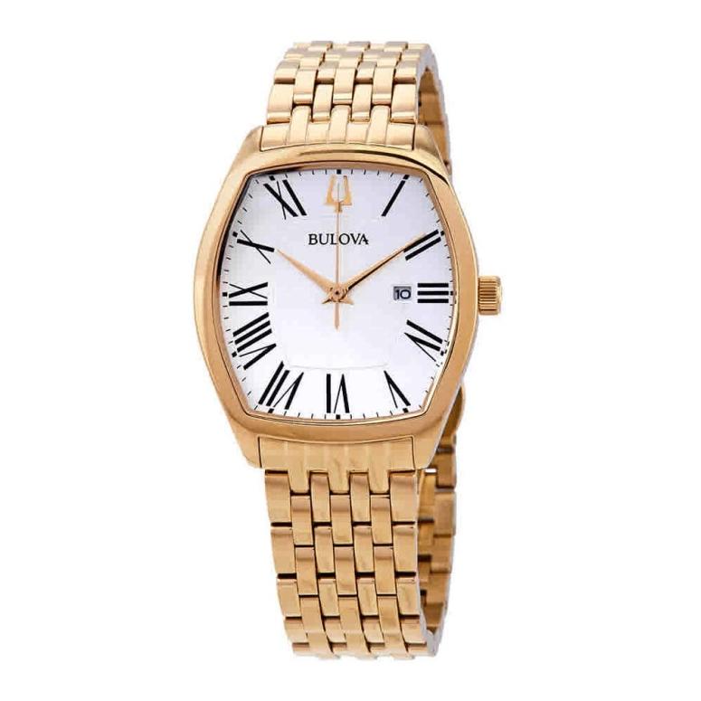 ブローバ Bulova 女性用 腕時計 レディース ウォッチ ホワイト 97M116 送料無料 【並行輸入品】