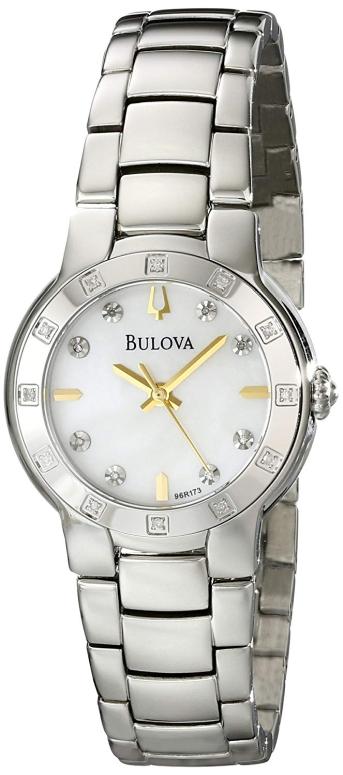 ブローバ Bulova 女性用 腕時計 レディース ウォッチ パール 96R173 送料無料 【並行輸入品】