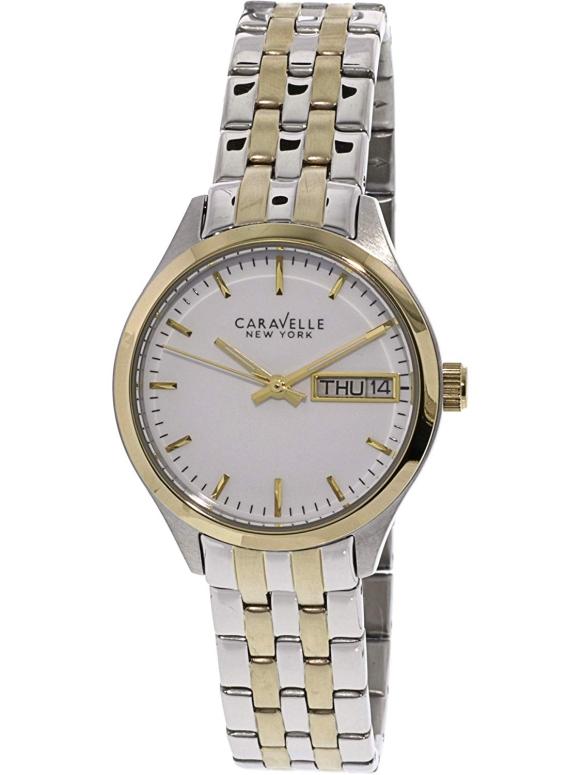 ブローバ Bulova 女性用 腕時計 レディース ウォッチ ホワイト 45N102 送料無料 【並行輸入品】