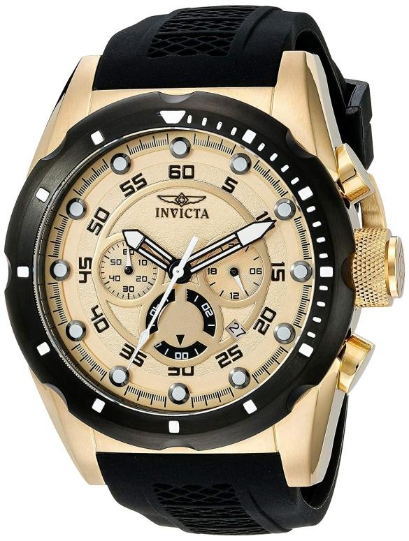 インビクタ Invicta インヴィクタ 男性用 腕時計 メンズ ウォッチ ゴールド 20306 送料無料 【並行輸入品】