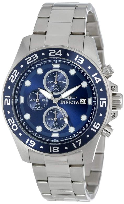 インビクタ Invicta インヴィクタ 男性用 腕時計 メンズ ウォッチ クロノグラフ ブルー 15205 送料無料 【並行輸入品】