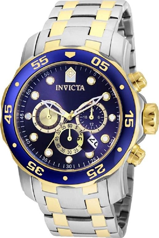 インビクタ Invicta インヴィクタ 男性用 腕時計 メンズ ウォッチ クロノグラフ ブルー 24849 送料無料 【並行輸入品】