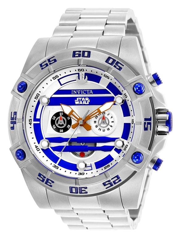 インビクタ Invicta インヴィクタ 男性用 腕時計 メンズ ウォッチ スターウォーズ star wars ホワイト 26518 送料無料 【並行輸入品】