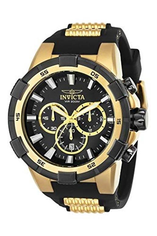 インビクタ Invicta インヴィクタ 男性用 腕時計 メンズ ウォッチ クロノグラフ ブラック 25135 送料無料 【並行輸入品】