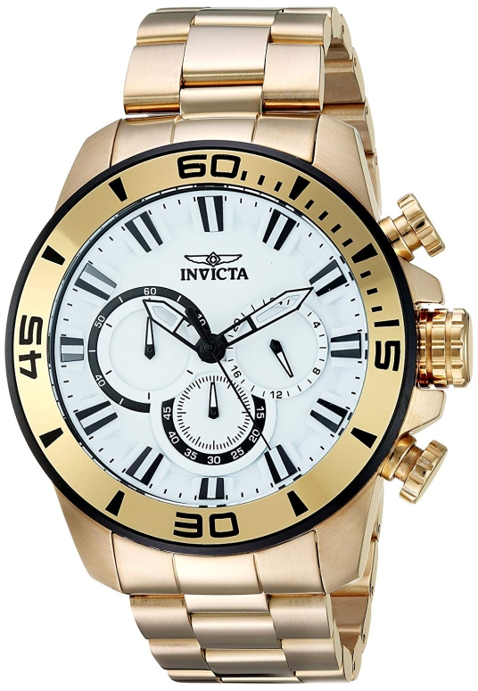 インビクタ Invicta インヴィクタ 男性用 腕時計 メンズ ウォッチ ホワイト 22589 送料無料 【並行輸入品】
