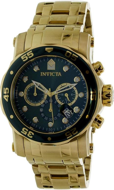 インビクタ Invicta インヴィクタ 男性用 腕時計 メンズ ウォッチ クロノグラフ グリーン 23653 送料無料 【並行輸入品】