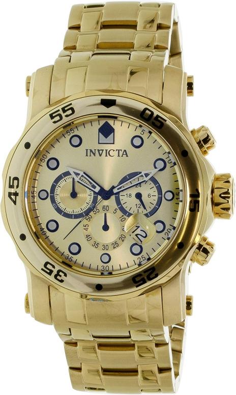 インビクタ Invicta インヴィクタ 男性用 腕時計 メンズ ウォッチ クロノグラフ ゴールド 23652 送料無料 【並行輸入品】