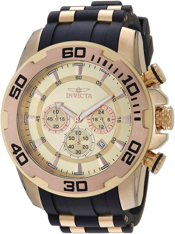 インビクタ Invicta インヴィクタ 男性用 腕時計 メンズ ウォッチ ゴールド 22342 送料無料 【並行輸入品】