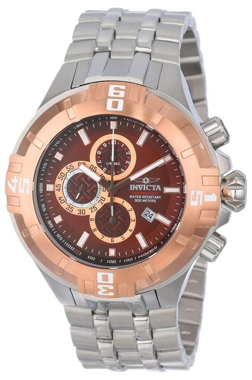 インビクタ Invicta インヴィクタ 男性用 腕時計 メンズ ウォッチ クロノグラフ ブラウン 12357 送料無料 【並行輸入品】
