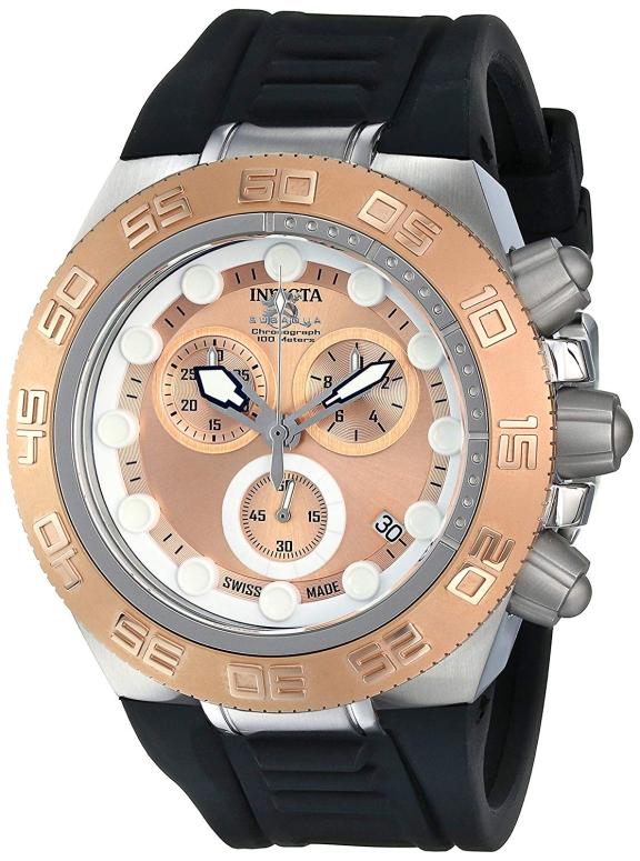 インビクタ Invicta インヴィクタ 男性用 腕時計 メンズ ウォッチ サブアクア subaqua ローズゴールド 15576 送料無料 【並行輸入品】