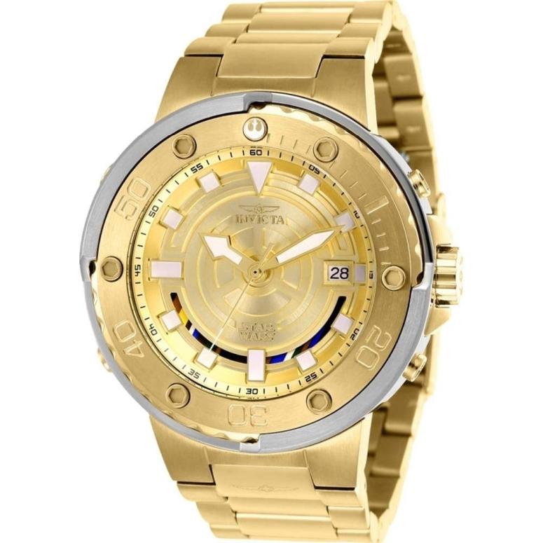 インビクタ Invicta インヴィクタ 男性用 腕時計 メンズ ウォッチ ゴールド 26114 送料無料 【並行輸入品】