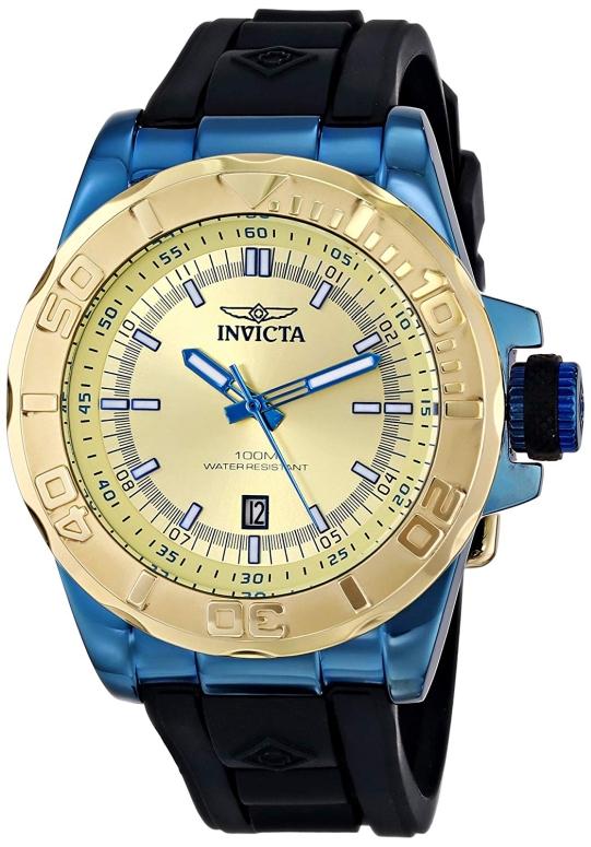 インビクタ Invicta インヴィクタ 男性用 腕時計 メンズ ウォッチ ゴールド 13797 送料無料 【並行輸入品】