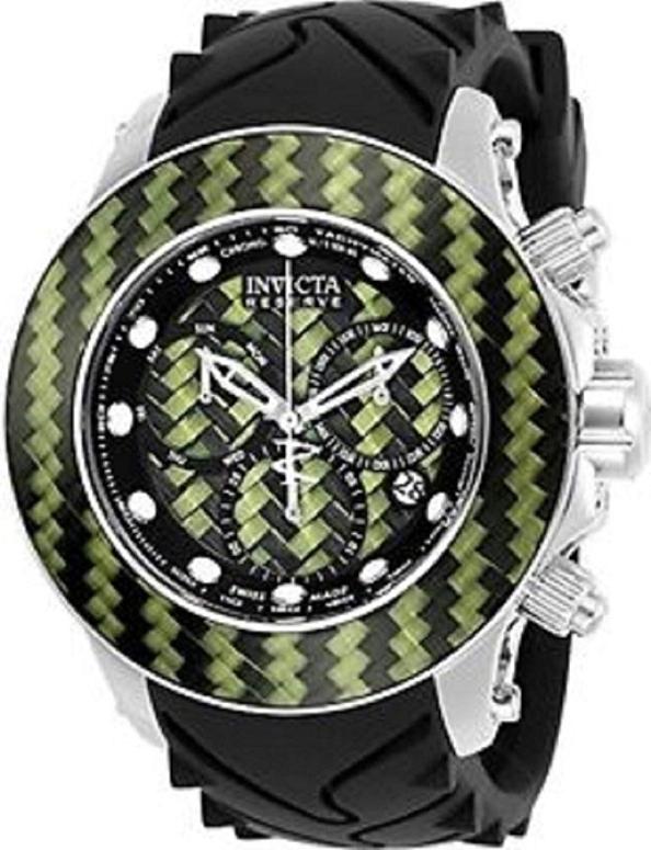 インビクタ Invicta インヴィクタ 男性用 腕時計 メンズ ウォッチ クロノグラフ グリーン イエロー ブラック 22145 送料無料 【並行輸入品】