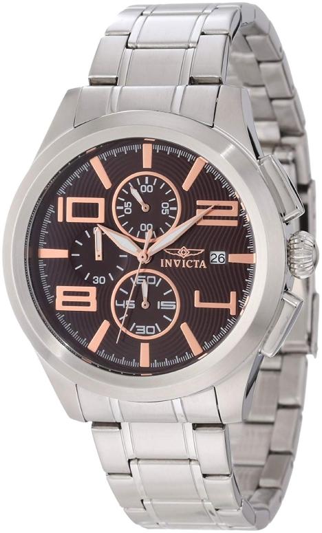 インビクタ Invicta インヴィクタ 男性用 腕時計 メンズ ウォッチ クロノグラフ ブラウン 12151 送料無料 【並行輸入品】