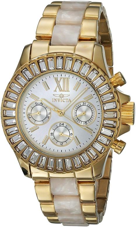 インビクタ Invicta インヴィクタ 女性用 腕時計 レディース ウォッチ シルバー 17491 送料無料 【並行輸入品】