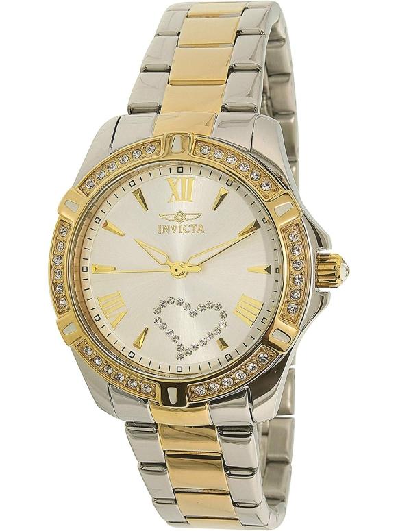 インビクタ Invicta インヴィクタ 女性用 腕時計 レディース ウォッチ シルバー 21418 送料無料 【並行輸入品】