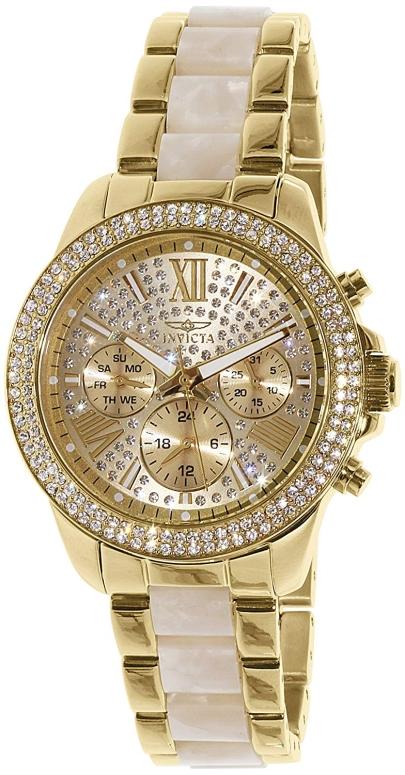 インビクタ Invicta インヴィクタ 女性用 腕時計 レディース ウォッチ ゴールド 20511 送料無料 【並行輸入品】