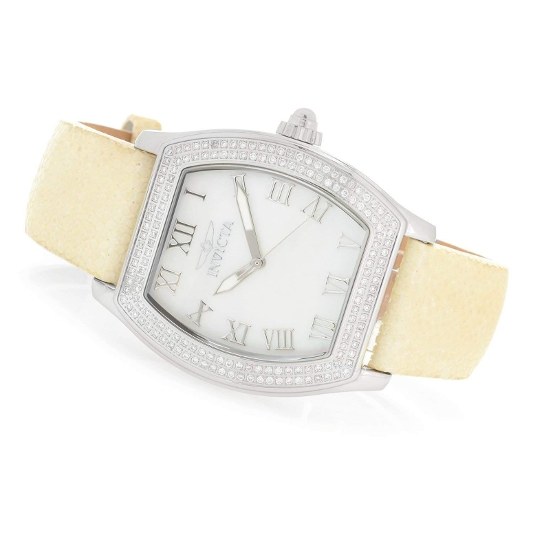 大人気の腕時計ブランド インビクタ Invicta インヴィクタ 海外正規品 女性用 腕時計 並行輸入品 ブランド買うならブランドオフ ウォッチ I-22687 送料無料 レディース ホワイト 中古