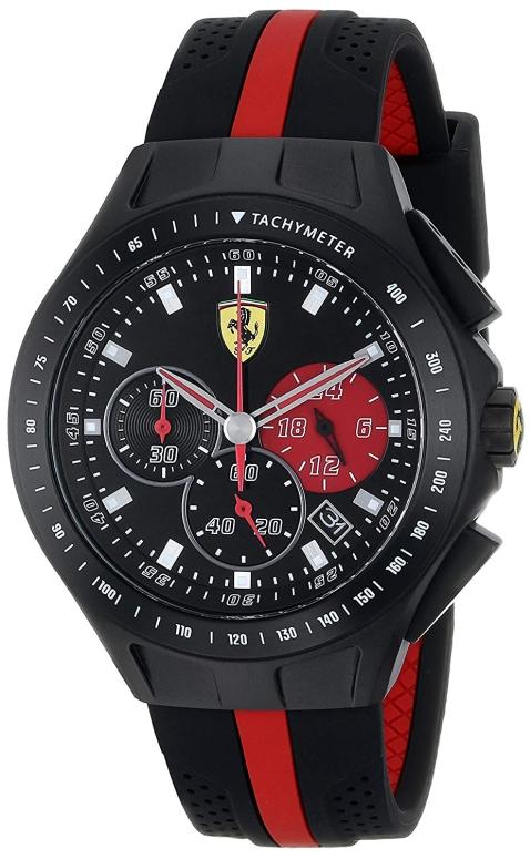 フェラーリ Ferrari 男性用 腕時計 メンズ ウォッチ ブラック 0830023 送料無料 【並行輸入品】