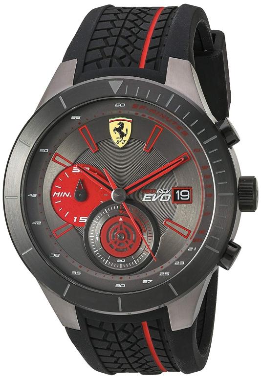 フェラーリ Ferrari 男性用 腕時計 メンズ ウォッチ グレー 830341 送料無料 【並行輸入品】