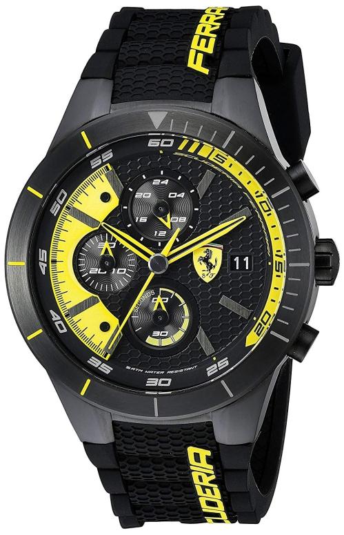 フェラーリ Ferrari 男性用 腕時計 メンズ ウォッチ ブラック 0830261 送料無料 【並行輸入品】