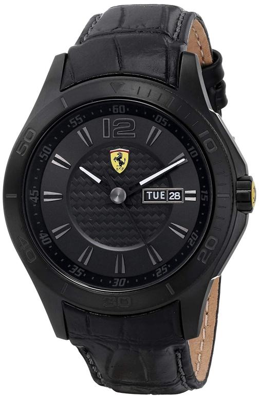 フェラーリ Ferrari 男性用 腕時計 メンズ ウォッチ ブラック 0830093 送料無料 【並行輸入品】
