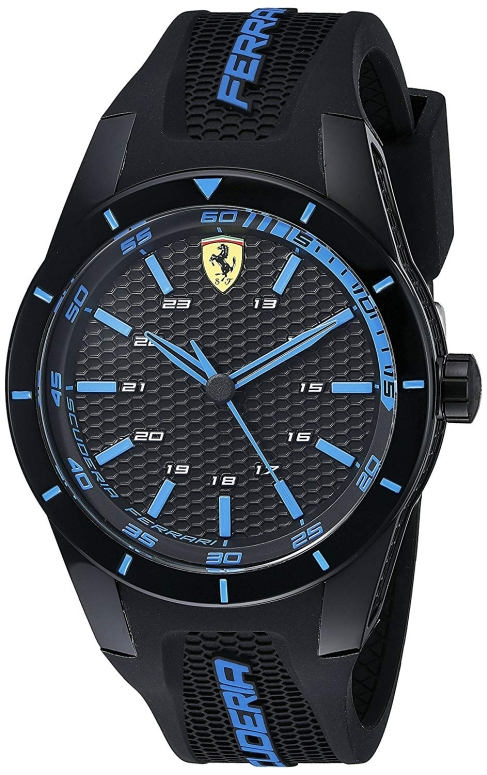 フェラーリ Ferrari 男性用 腕時計 メンズ ウォッチ ブラック 0830247 送料無料 【並行輸入品】