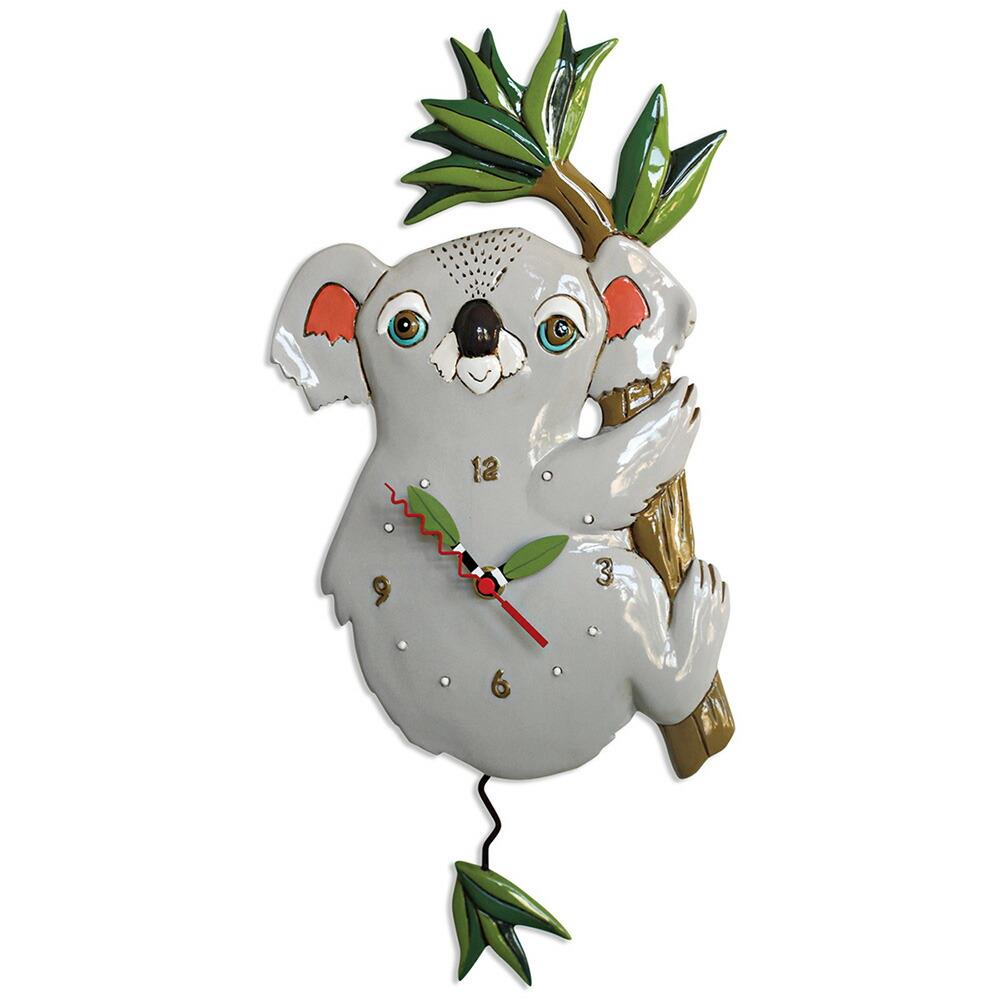コアラ アレン デザイン 振り子時計 Allen Designs Koolah Koala Pendulum Clock 掛け時計 P1922 ミシェルアレン ミシェル・アレン アレン・デザイン ALLEN DESIGNS 時計 送料無料 【並行輸入品】