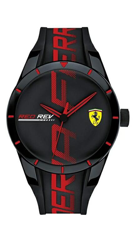 フェラーリ Ferrari 男性用 腕時計 メンズ ウォッチ ブラック 0830614 送料無料 【並行輸入品】