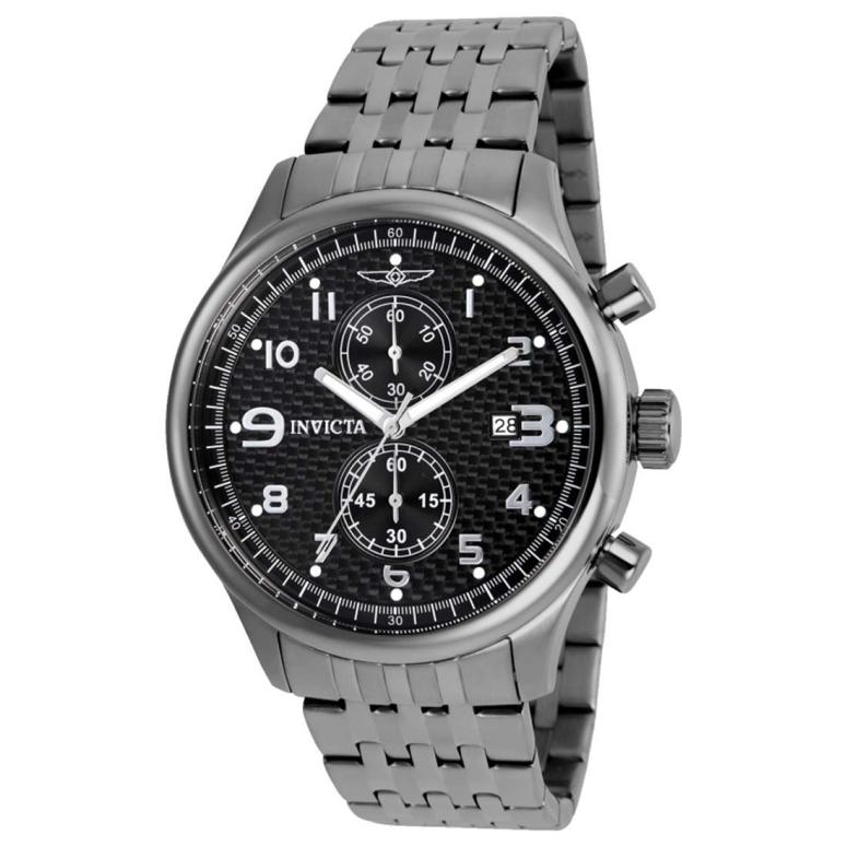 インビクタ Invicta インヴィクタ 男性用 腕時計 メンズ ウォッチ ブラック 0368 送料無料 【並行輸入品】