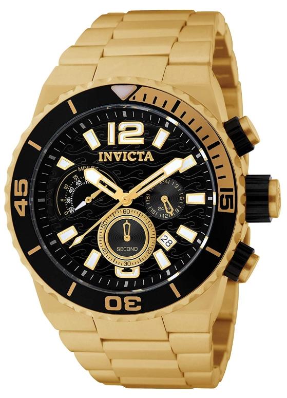 インビクタ Invicta インヴィクタ 男性用 腕時計 メンズ ウォッチ クロノグラフ ブラック 1343 送料無料 【並行輸入品】