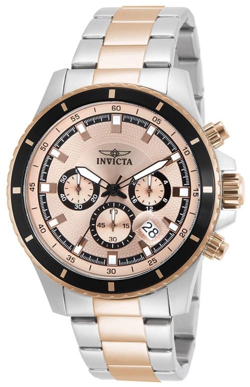 インビクタ Invicta インヴィクタ 男性用 腕時計 メンズ ウォッチ クロノグラフ ピンク 12457 送料無料 【並行輸入品】